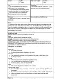 Social Studies Supply/Demand Lesson Plan, Vocab Sheet and