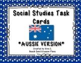 Social Studies Task Cards: AUSSIE VERSION