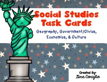 Social Studies Task Cards