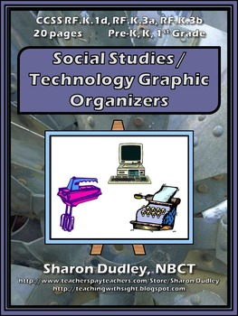 Social Studies / Technology Graphic Organizers