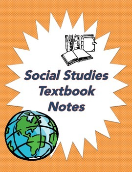 """Social Studies Textbook Note Organizer - """"Wow"""" and """"How"""" Notes w/ Follow Up"""