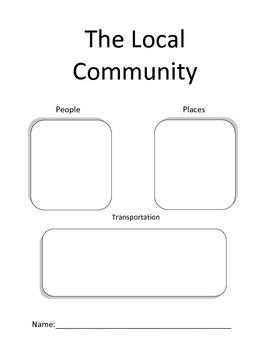 Social Studies - The local community