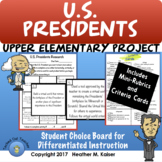 Social Studies Thematic Choice Boards Bundle