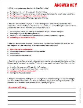 Social Studies Themed Informational Text ELA Test Prep Bundle
