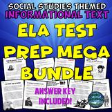 Social Studies Themed Informational Text Reading Test Prep