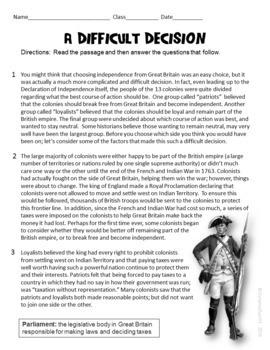 Social Studies Themed Informational Text Reading Test Prep MEGA Bundle