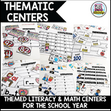 Thematic Literacy and Math Centers