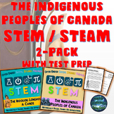 Social Studies Themed The Indigenous Peoples of Canada STEM/STEAM  2 Pack