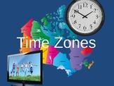 Social Studies - Time Zones In Canada