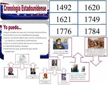 Social Studies Timeline in Spanish