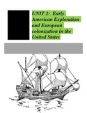 Social Studies Unit 2: American Colonization