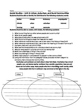 Social Studies Unit 3 Review Sheet Houghton Mifflin