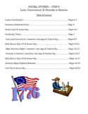 Social Studies Unit Plan & Materials - Elementary Civics,