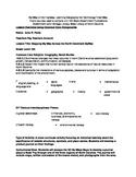 Social Studies Unit with Reprintable worksheets Car/Road Trip NC CC