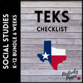 Social Studies Vertical TEKS Checklist K-12
