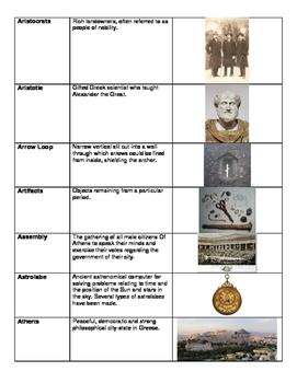 Social Studies Vocabulary Glossary