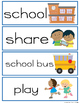 Social Studies Vocabulary Cards Kindergarten