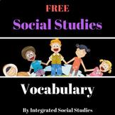 Social Studies Vocabulary