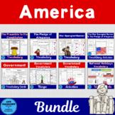 America Vocabulary Bundle