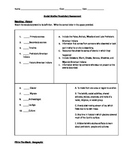 Social Studies Vocabulary Assessment for Ohio 4th Grade