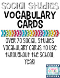 Social Studies Vocabulary Words