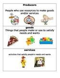Social Studies Vocabulary Cards for 3rd Grade