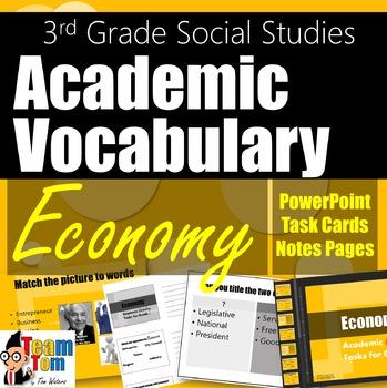 Social Studies Vocabulary Economy