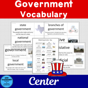 Social Studies Vocabulary: Government