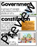 Social Studies Vocabulary - Government