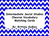 Social Studies Vocabulary Match Cards