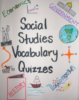 Social Studies Vocabulary Quizzes
