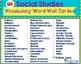 Social Studies Vocabulary Word Cards
