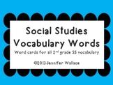 Social Studies Polka Dot Vocabulary Words