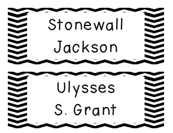 GA Social Studies Word Wall (5th Grade) FREEBIE