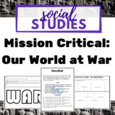 Social Studies War Projects - Civil War, World War I, Worl