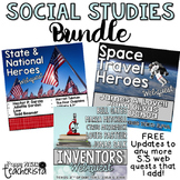 Social Studies Web Quest BUNDLE