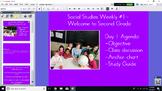 Social Studies Weekly Second Grade Supplementals- Week  1