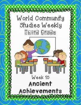 Social Studies Weekly (Alabama) Third Grade- Week 10 Ancient Achievements