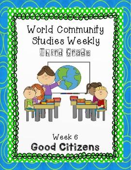 Social Studies Weekly (Alabama) Third Grade Week 6- Good Citizens