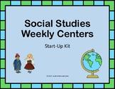 Social Studies Weekly Centers Starter Kit