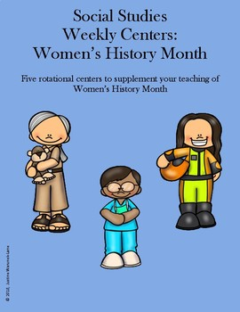 Social Studies Weekly Centers-- Women's History Month