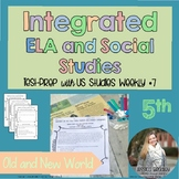 Integrated ELA FSA Practice with Social Studies; Old and New World