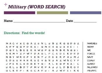 Social Studies Word Searches (20 pages- see description)