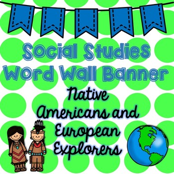Social Studies Word Wall Banner