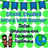 Social Studies Word Wall Banner