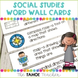 Social Studies Word Wall Cards