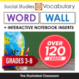 Social Studies Word Wall & Interactive Notebook Inserts