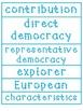 Social Studies Word Wall Words
