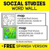 Word Wall - Social Studies Vocabulary