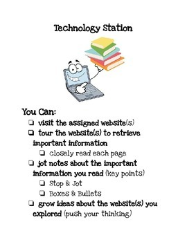 Social Studies Work Stations: Technology